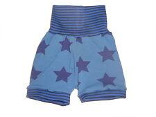 Handmade tolle Sommer Hose Gr. 74 / 80 blau mit Sternen Motiven !!