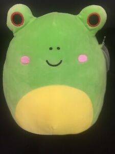 Squishmallow Wendy The Green Frog 8 Inch Discontinued Valentines Day 2021 ❤️❤️❤️