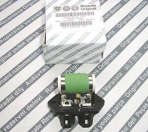 ALFA ROMEO 147 156 166 1.6 2.0 TS 1.9 8V  Genuine AC Radiator Fan Motor Resistor