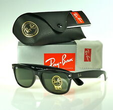 RAY-BAN NEW WAYFARER RB2132 901L 55MM BLACK / GREEN CLASSIC G-15