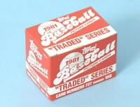 1981 TOPPS TRADED TEAM SETS - U Pick CHOICE -Checklist in Description- DODGERS++