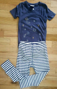 NWT HANNA ANDERSSON BLUE SPACE STARS CROSSOVER WIGGLE SET 85 2 2T, 90 3 3T $48