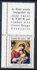 STAMP / TIMBRE FRANCE NEUF N° 3531 **  + VIGNETTE CROIX ROUGE
