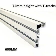 75 Type T-Slot Aluminium Woodworking Backer Router Table Backer Band Saw Jaw
