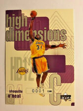 """1997 Shaquille O'Neal  """"High Demensions"""" HD12  """"0001""""/2000  First Card !!"""