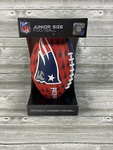 Official NFL Rawlings New England Patriots Junior Size Football New