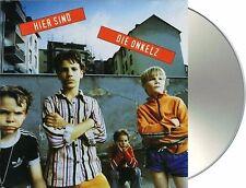 """Böhse Onkelz """"hier sind die onkelz"""" CD NEU Album 1995"""