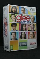 "jeu nintendo WII ""Glee Karaoke Revolution "" micro inclus ( logitech )"