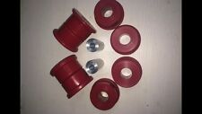 BMW E36 Rear Subframe Mounts. DRIFT & Track USE. 95 Shore A-ROSSO poly