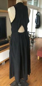 Kitx Kit Willow Luxe Label Detailed Maxi Dress RRP $490. Cotton Voile 10, 12.