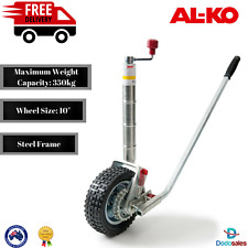 ALKO 10in Ratchet Jockey Wheel Caravan Trailer Camper Boat Power Mover AL-KO