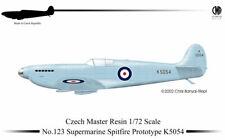 Czech Master Resin 1/72 Supermarine Spitfire Prototype K5054 # 123