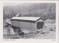 "*Postcard-""The Gates Bridge"" -1903-1940- @ Oregon  (#44)"