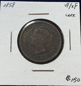 Canada 1858 Large One Cent