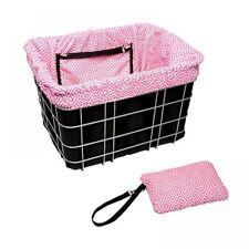Electra Baskit Liner Black/Pink Mosaic Inlay für Fahrradkorb, Wende Tasche Beute