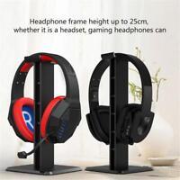 Universal ABS Desktop Headset Stand Neck Headphone Display Holder Bar Mount