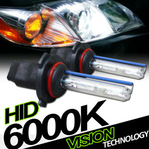6000K Hid Xenon 9005/Hb3 High Beam Headlights Headlamps Bulbs Conversion Kit Vb2