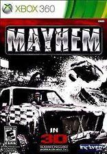 Mayhem 3D. Xbox 360. Rare. Free Shipping. Fast Shipping.