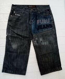 Fubu Jeans Short Pants Denim for Men size Small
