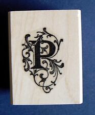 Letter P rubber stamp P22