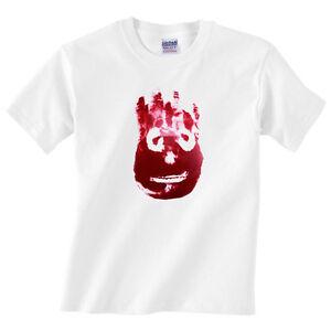 Children's Wilson T Shirt - Cast Away face - Boys or girls tee