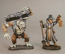 Grave Digger & Henchman Reaper Miniatures Dark Heaven Legends Townsfolk Monster