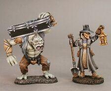 Grave Digger & Henchman Reaper Miniatures Dark Heaven Legends Townsfolk Monster