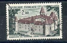 TIMBRE FRANCE OBLITERE N 1726 CHATEAU DE BAZOCHES  / photo non contractuelle