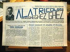 rivista aeronautica ALA TRICOLORE Gheregheghez Ghez 3/4-1987/ 9° Stormo 1940-41