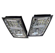 Volvo VNL VN  2003+ LED Fog Light Chrome Pair Set NEW DESIGN