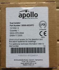 Apollo XP95 DIN-Rail Dual Isolator 55000-802 ONLY £22.50 + VAT Apollo Discovery