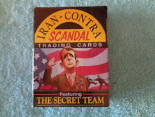 Complete 1988 Iran-Contra Scandal Trading Card Set - Reagan Administration