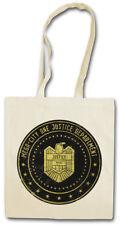 MEGA CITY ONE JUSTICE DEPT LOGO I Shopper Shopping Bag Judge Dredd Eagle