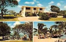 Key Largo Florida Rock Reef Resort Multiview Vintage Postcard K71166