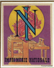 IMPRIMERIE NATIONALE Yt2014  FRANCE  FDC Enveloppe Lettre Premier jour