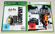 2 GIOCHI XBOX 360 Bundle-Battlefield Bad Company 1 & 2-EGO Shooter