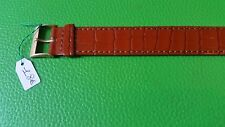WATCH BAND BRACELET MONTRE  CUIR***** KOOKAI********marron*** 18mm***REF OK32