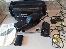 Hitachi Video Camera VM-C1E, 2 Batteries, Case , All leads, Manual.