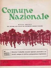 Comune nazionale, rivista politica, MSI, politica, 1970, anno XIV n. 2