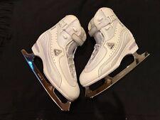 softec jackson vantage womens figure skates size 7 white