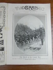 genre L ILLUSTRATION : WWI WAR GUERRE 14/18 : revue THE GRAPHIC 1917 Nr 2473
