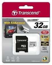 Transcend High Endurance 32GB micro SDHC Card with Adapter Class10 MLC GENUINE