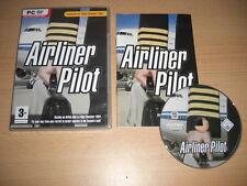 Avion de ligne pilote PC DVD ROM Add-on pour Microsoft Flight Simulator SIM 2004 FS2004