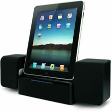 iLuv Audio Cube Speaker Dock with Acoustic jAura Sound Technology