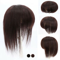 12cmX12cm Women 100% Human Hair Topper Clip In Hairpiece Toupee Top Hair Piece