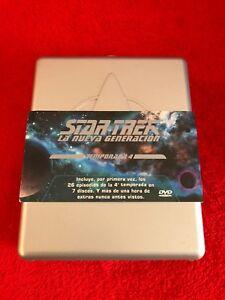 STAR TREK THE NEXT GENERATION TEMPORADA 4 COMPLETA LA NUEVA GENERACION 7DVD