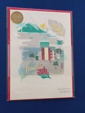 NEW 2016 Hawaii Limited Christmas Holiday Starbucks Greeting Gift Card w/$0 bal