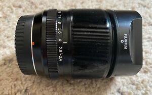 FUJIFILM XF 60mm f/2.4 R Macro Lens Fujinon Fuji - Excellent Condition w/filter