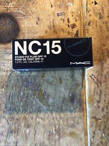 Mac Nc 15 Studio Fix . 30 Ml . Bnib .