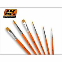 AK Interactive Synthetic detail and weathering brushes choose brush from range